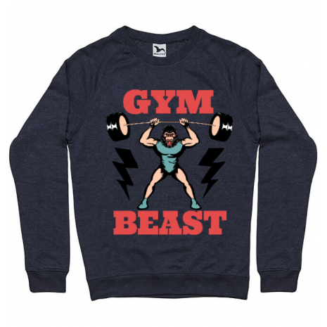Bluza ADLER barbat Gym Beast Denim inchis