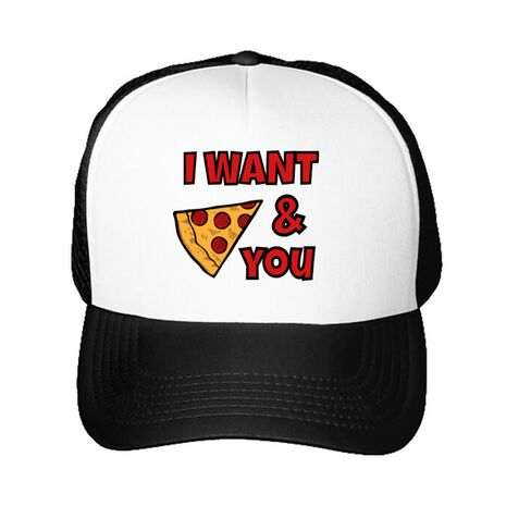 Sapca personalizata I want you Alb