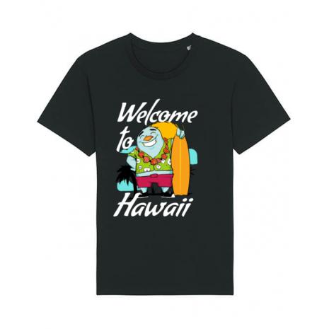 Tricou STANLEY STELLA barbat Welcome to Hawaii Negru