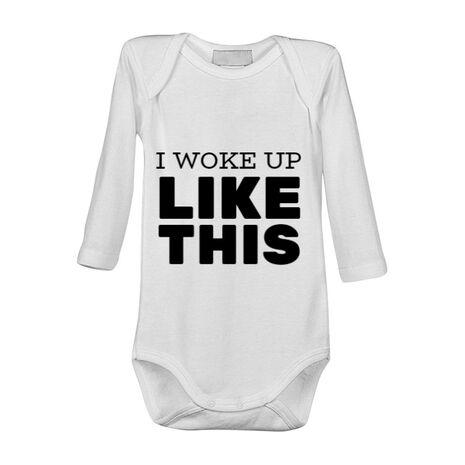 Baby body I woke up like this Alb