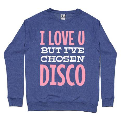Bluza ADLER barbat I've chosen disco Albastru melanj
