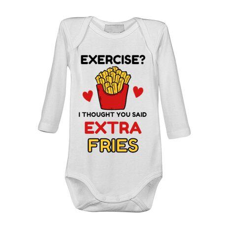 Baby body Exercise extra fries Alb