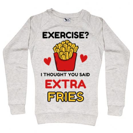 Bluza ADLER dama Exercise extra fries Migdala melanj