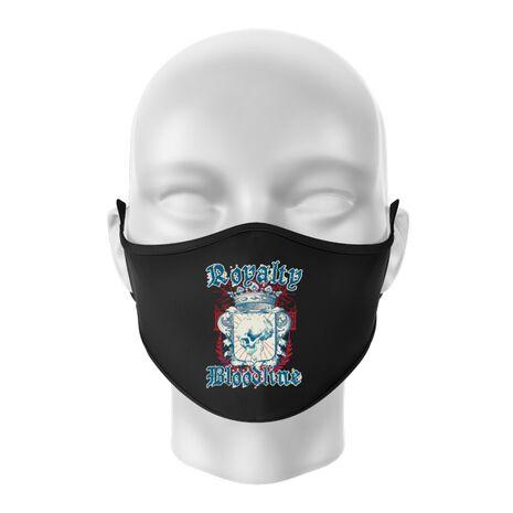 Masca personalizata reutilizabila Royalty bloodline Negru