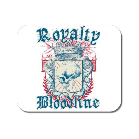Mousepad personalizat Royalty bloodline Alb