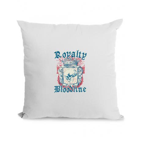 Perna personalizata Royalty bloodline Alb