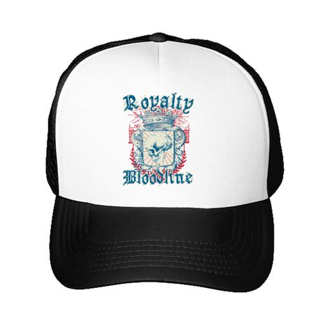 Sapca personalizata Royalty bloodline Alb