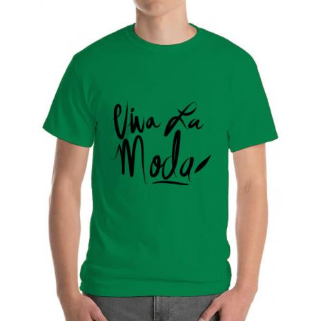 Tricou ADLER barbat Viva la moda Verde mediu