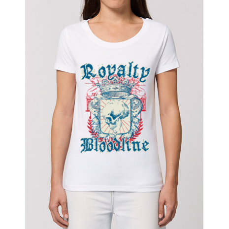 Tricou STANLEY STELLA dama Royalty bloodline Alb