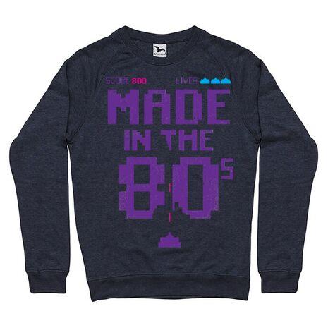 Bluza ADLER barbat Made in the 80s Denim inchis