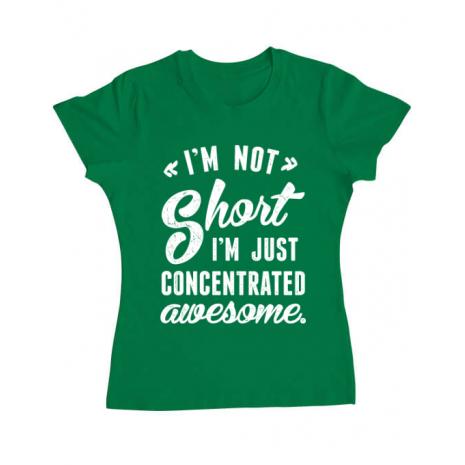Tricou ADLER dama Concentrated awesome Verde mediu