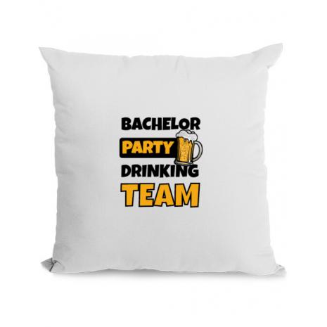Perna personalizata Bachelor Party Alb