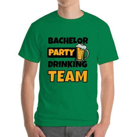 Tricou Petrecerea burlacilor ADLER Bachelor Party Verde