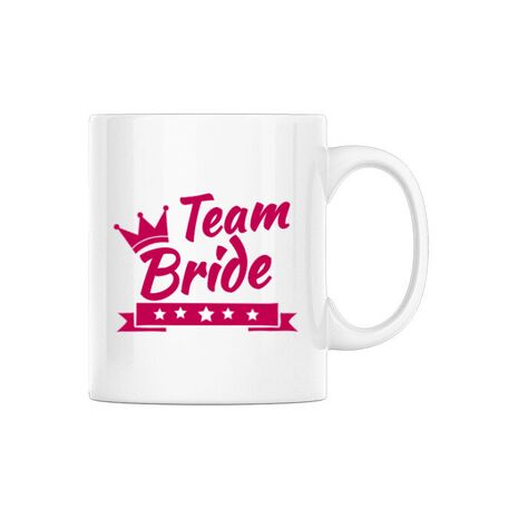 Cana Petrecerea burlacitelor Team Bride Alb