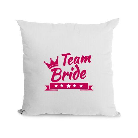 Perna Petrecerea burlacitelor Team Bride Alb