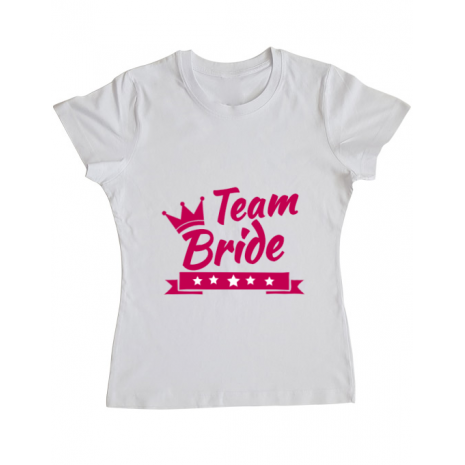 Tricou ADLER dama Team Bride Alb