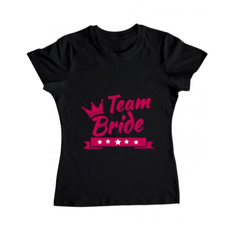 Tricou ADLER dama Team Bride Negru