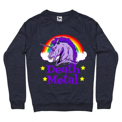 Bluza ADLER barbat Death Metal Denim inchis
