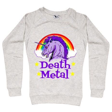 Bluza ADLER dama Death Metal Migdala melanj