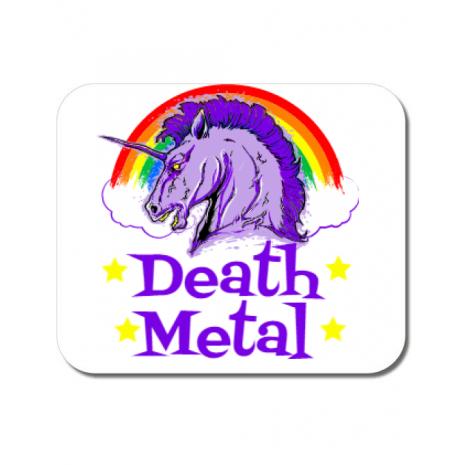 Mousepad personalizat Death Metal Alb