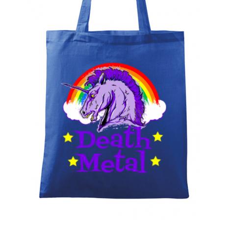 Sacosa din panza Death Metal Albastru regal