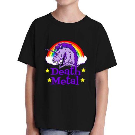 Tricou ADLER copil Death Metal Negru