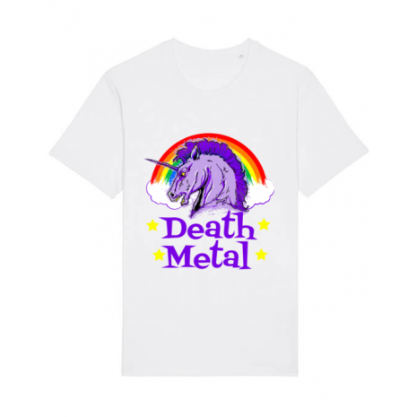 Tricou STANLEY STELLA barbat Death Metal Alb