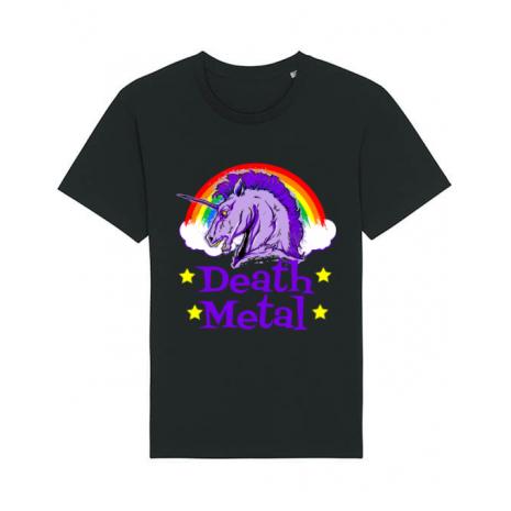 Tricou STANLEY STELLA barbat Death Metal Negru