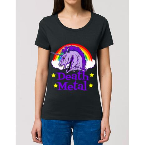 Tricou STANLEY STELLA dama Death Metal Negru