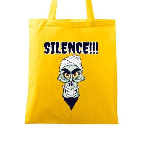 Sacosa din panza Silence Galben