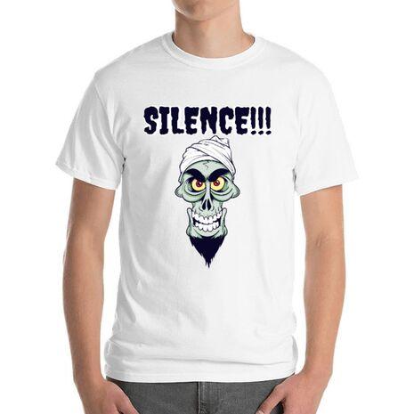 Tricou ADLER barbat Silence Alb