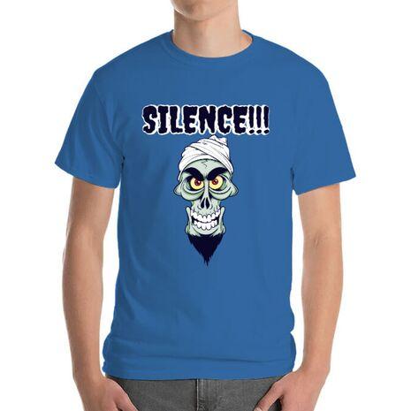 Tricou ADLER barbat Silence Albastru azuriu
