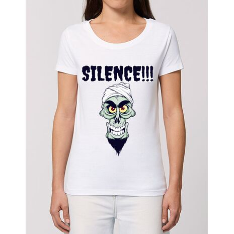 Tricou STANLEY STELLA dama Silence Alb