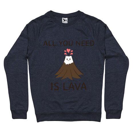 Bluza ADLER barbat All you need is lava Denim inchis