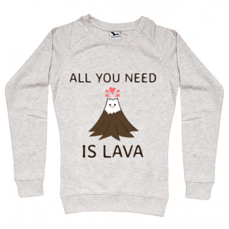 Bluza ADLER dama All you need is lava Migdala melanj