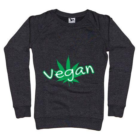 Bluza ADLER dama Vegan Negru melanj