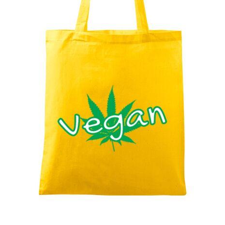 Sacosa din panza Vegan Galben