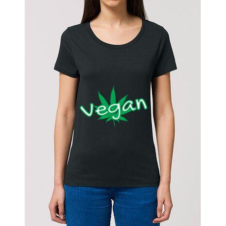 Tricou STANLEY STELLA dama Vegan Negru