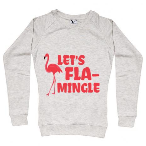 Bluza ADLER dama Let's flamingle Migdala melanj