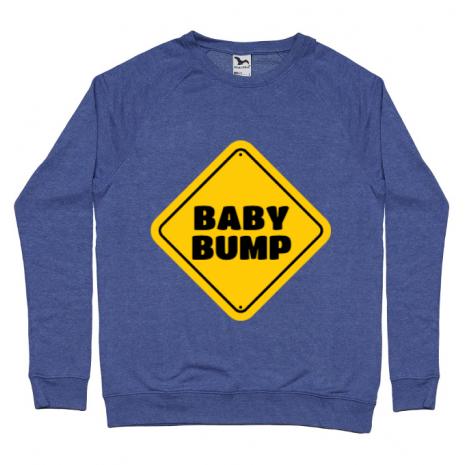 Bluza ADLER barbat Baby bump Albastru melanj
