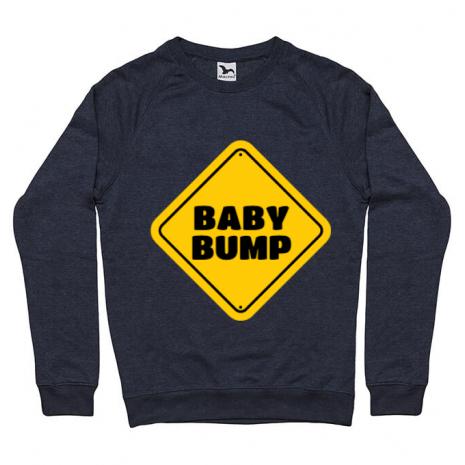 Bluza ADLER barbat Baby bump Denim inchis