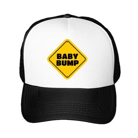 Sapca personalizata Baby bump Alb