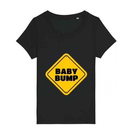 Tricou STANLEY STELLA dama Baby bump Negru