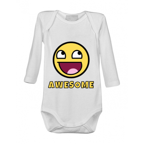 Baby body Awesome Alb