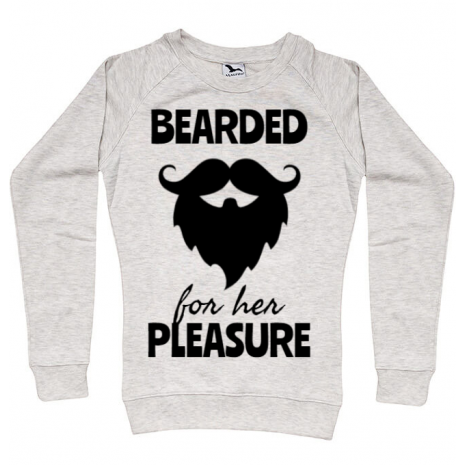 Bluza ADLER dama Bearded for her pleasure Migdala melanj