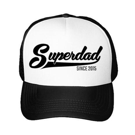 Sapca personalizata Superdad Alb