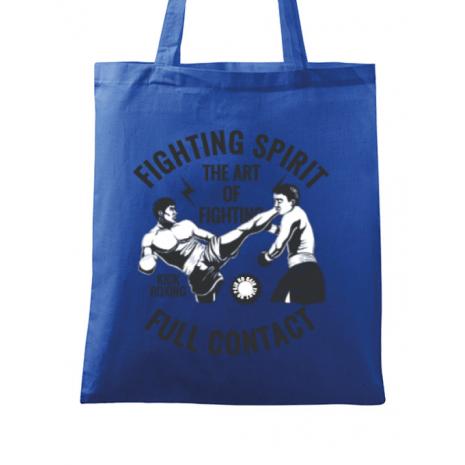 Sacosa din panza Kick boxing Albastru regal