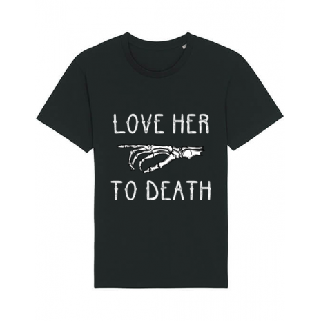 Tricou STANLEY STELLA barbat Love her to death Negru