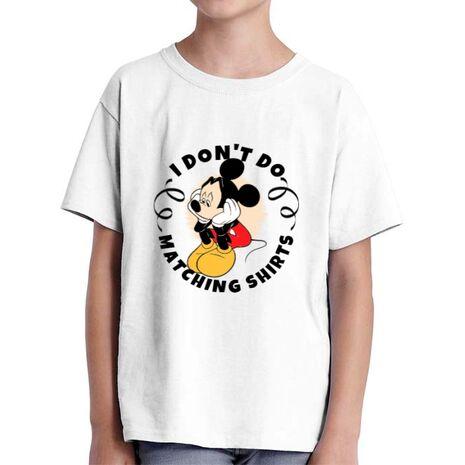 Tricou ADLER copil Matching shirts Alb