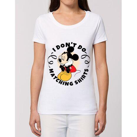 Tricou STANLEY STELLA dama Matching shirts Alb